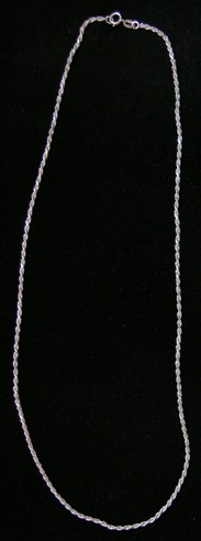 Sterling Silver French Rope 1.75 mm