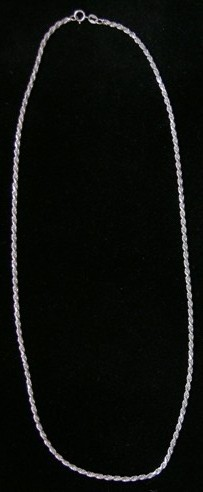Sterling Silver French Rope 2.1 mm