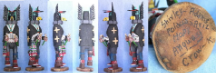 Kachina, Angwusi Crow by Shirley Adams