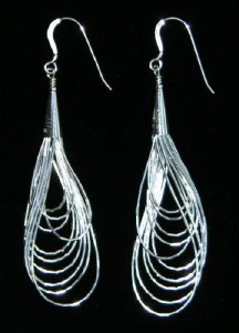 Contemporary Heishi Earrings