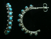 Navajo Half Circle Earrings