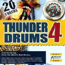 Thunder Drums 4, pow-wow music