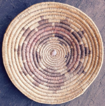 Vintage Navajo Wedding and Ceremonial Basket from the Lukachukai Region