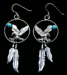 Dream Eagle Earrings