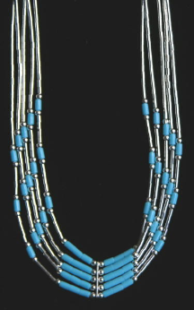 Necklace Zuni Liquid Silver
