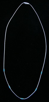 Turquois Color Tube Necklace