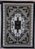 Navajo Rug, Two Grey Hills, Classic Design, L. Billie