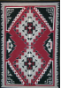Navajo Rug, Ganado Red, Diamond Design, B. Y. Ashley
