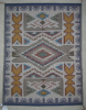 Navajo Rug, Raised Outline, Angela Joe