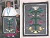 Navajo Rug, Tree of Life, J. Whitesheep