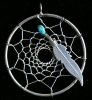 Navajo Dream Catcher Pendant L