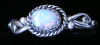 Shimmering  Opal Ladies Ring